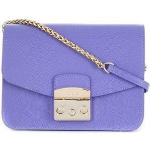 Furla Metropolis Crossbody Bag in Purple